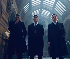 gangsters, arthur shelby, and period drama costume image