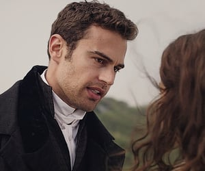 theo james, rose williams, and charlotte heywood image