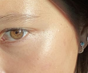 close up, details, and brown eyes image