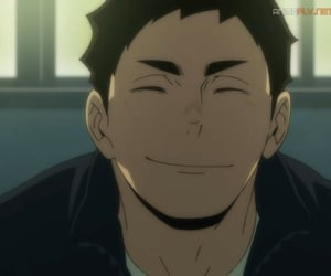 haikyuu, anime, and daichi image