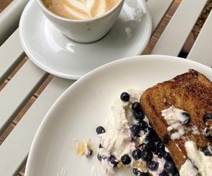 berries, breakfast, and cream image