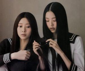 izone, wonyoung, and minju image