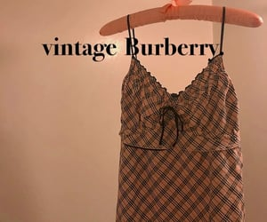 Burberry, fashion, and kawaii image