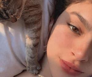 animal, beauty, and girl image