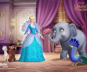 barbie, movie, and island princess image
