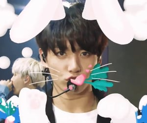 bunny, rabbit, and bts image