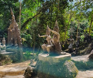 thailand and magic budha garden image