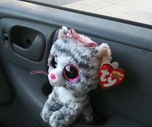 stuffed animals, toys, and stuffed kitty image