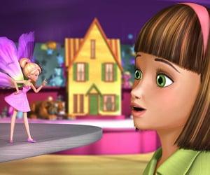 movie, thumbelina, and barbie image