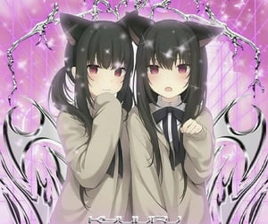anime, neko, and animecore image