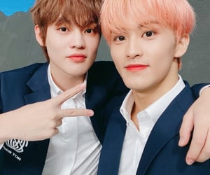 kpop, mark, and mark lee image