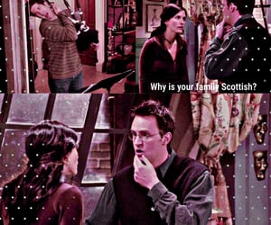 chandler bing, scene, and f.r.i.e.n.d.s image