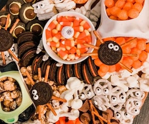 Cookies, food, and october image