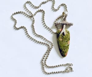 etsy, necklace, and sterling pendant image