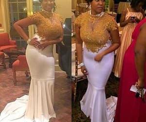 vestido de fiesta, white evening dresses, and 2021 evening dress image