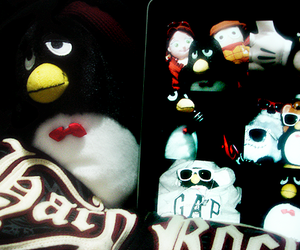 coca cola, hard rock, and pinguim image