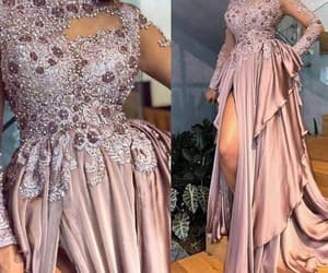 robe de soirée, vestido de fiesta, and beaded prom dresses image