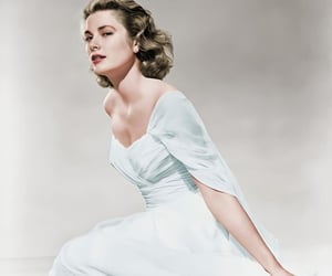 actress, grace kelly, and vintage image