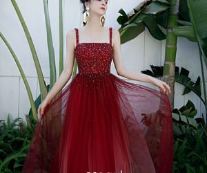 beading, prom dress, and dancing dress image
