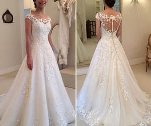wedding gown, cheap bridal dresses, and wedding dresses 2020 image