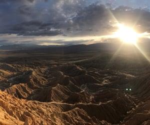 desert and sunset image