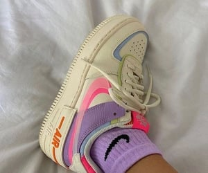 colors, shoes, and nike image