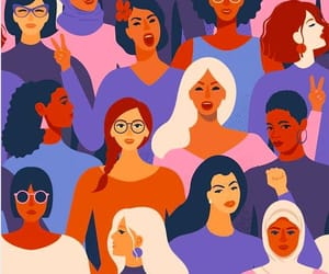 article, feminists, and girl power image