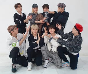 JYP, skz, and stray kids image