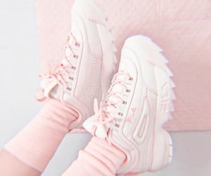 aesthetic, Fila, and pastel image