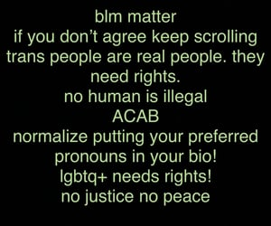 acab, lgbtq+ rights, and biden2020 image