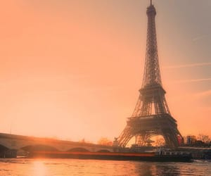 cities, eiffel, and tower image