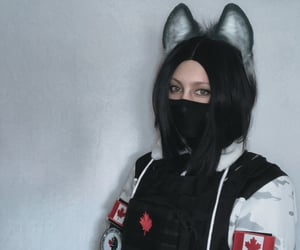 anime, r6, and cosplay image