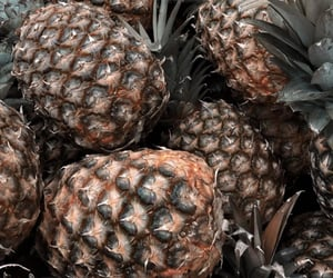 fruit, wallpapers, and pineapple image