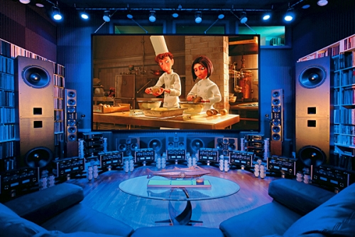 home theater and movies image