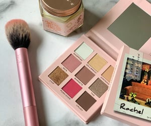 candle, makeup, and palette image