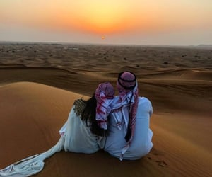 couple, kamila, and Dubai image