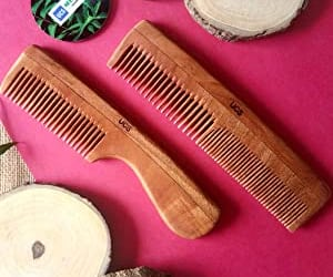 hair and baby hair neem comb image