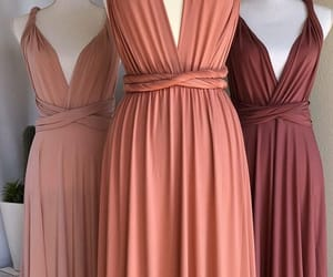 cocktail dress, pink, and wedding image