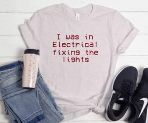 fashion, shirts, and tees image