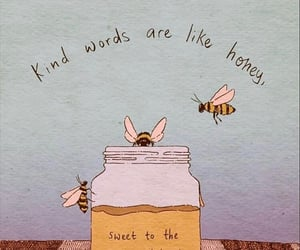 quotes, honey, and bee image