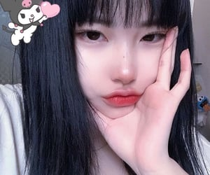 ulzzang, asian beauty, and aesthetic girl image
