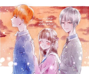 anime, kyo sohma, and fruits basket image