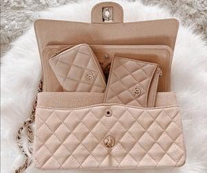 bag, beige, and brown image
