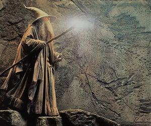 cave, fantasy, and the lord of the rings image