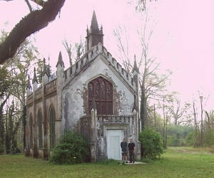 abandoned, building, and gothic image