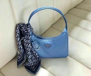 baby blue, dior, and Prada image