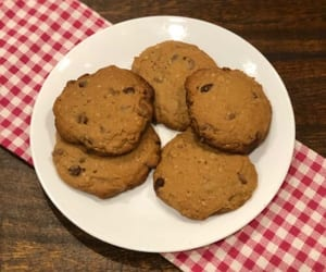 chocolate chip cookies, Cookies, and copycat chicfila cookies image