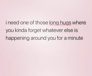 hug, feelings, and forget image