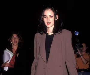 fashion, winona ryder, and 90's image