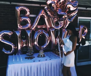 luxury, balloons, and family image